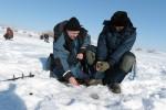 На Ирикле прошло традиционное соревнование по подледной рыбалке среди работников Уральской Стали